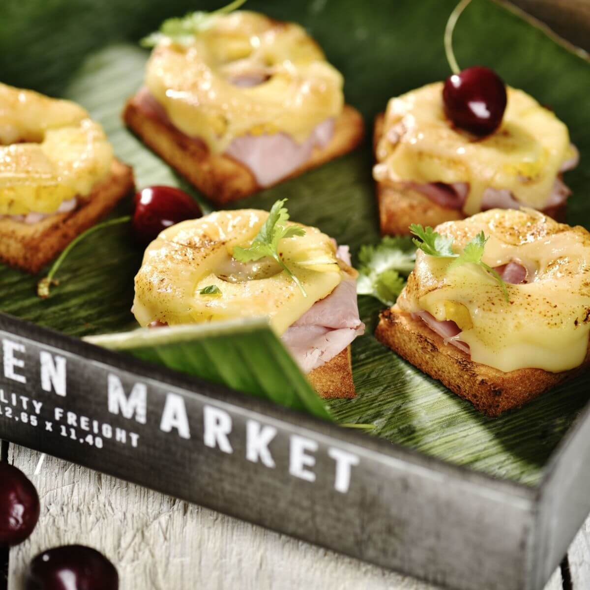 Rezept Toast Hawaii