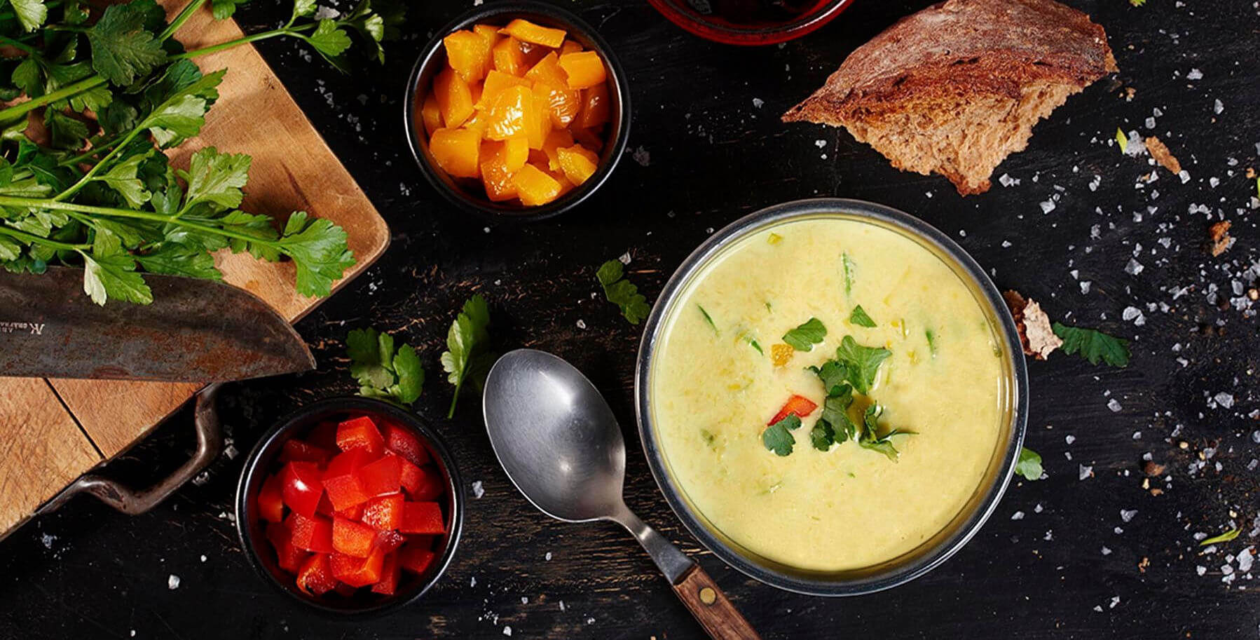 Rezept Kaese Lauch Suppe