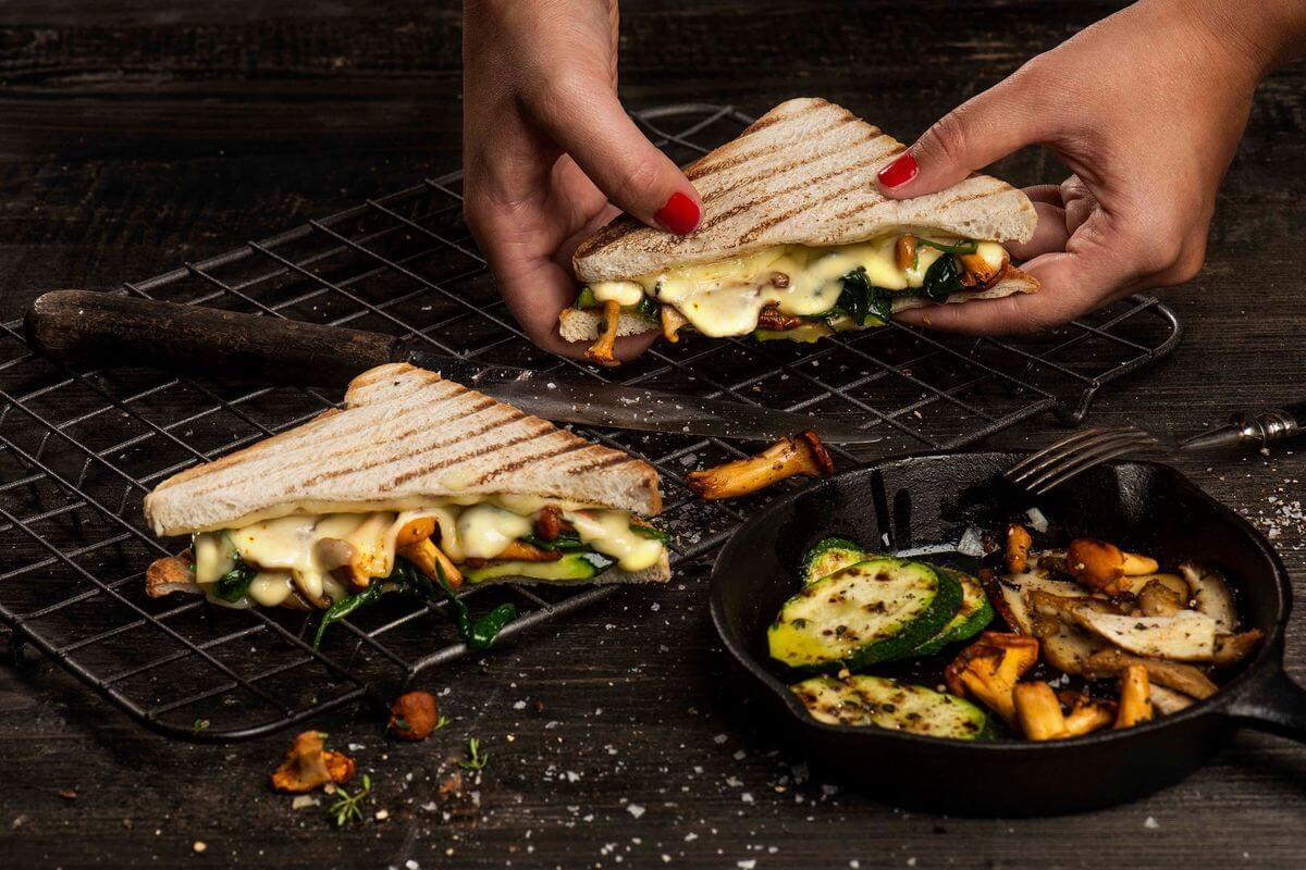 Lrd Toast Burger Grilled Cheese Veggie