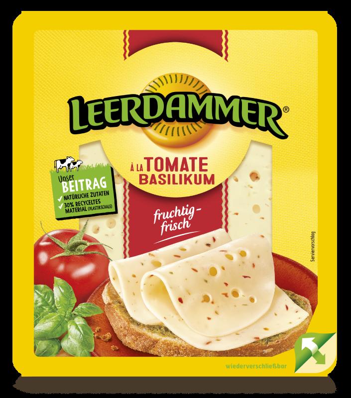 Leerdammer Tomate Basilikum 7S Vlog De Lee50027308 Straight
